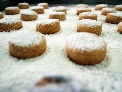 Soft Almond Cookies